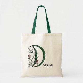 'Vine Letter D' Bag