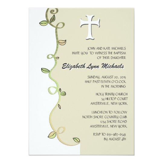 Vine of Faith Religious Invitation