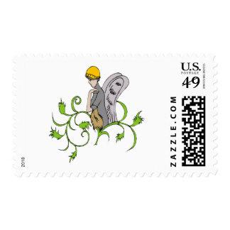 Vine-Sprite Postage Stamps