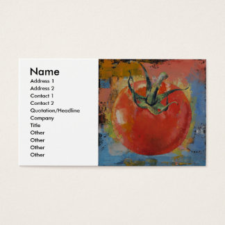 Vine Tomato Business Card