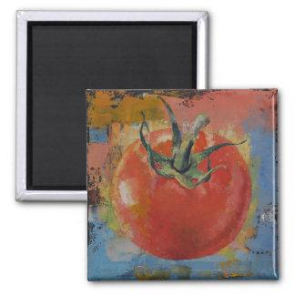 Vine Tomato Fridge Magnet
