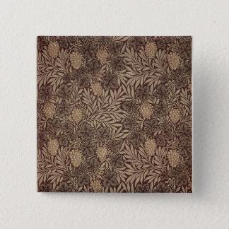 'Vine' wallpaper design, 1873 Button