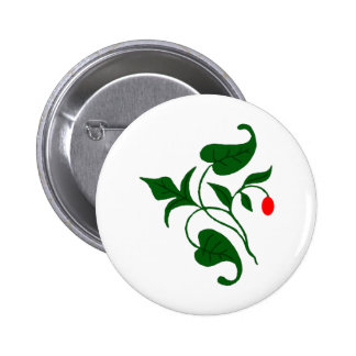 Vined Pinback Button
