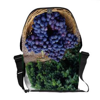 Viñedo de la uva bolsas de mensajería