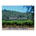 Viñedo de Napa Valley California Postal