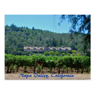 Viñedo de Napa Valley California Tarjetas Postales