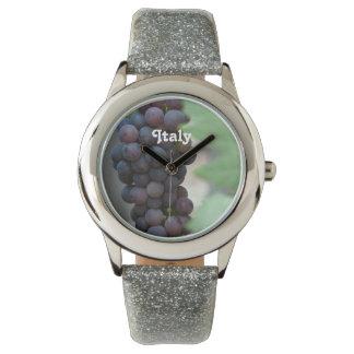 Viñedo en Italia Reloj De Mano