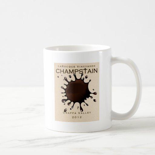 Viñedos Champstain de Jeffrey LaRocque Taza De Café