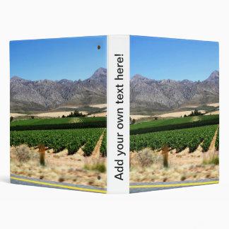 """Viñedos y montañas en Franschhoek, S África Carpeta 1"""""""