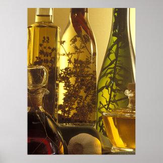 Vinegar Bottles Poster