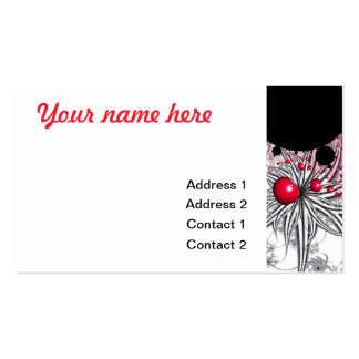 Vinehearts with Spiderplants Business Card