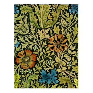 Vines and Flowers Postcard