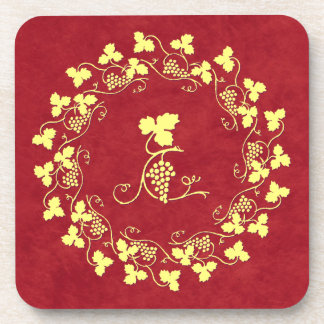 Vines and Grapes Coaster