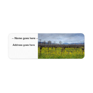 Vines And Wires Label