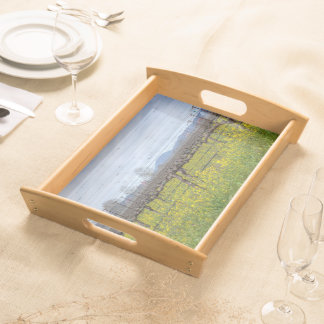 Vines And Wires Serving Tray