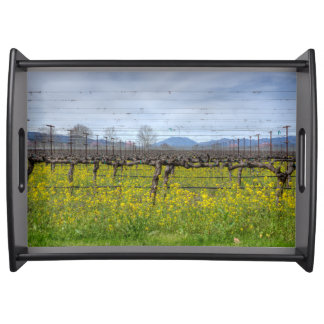 Vines And Wires Food Tray