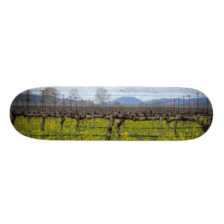 Vines And Wires Skateboard Deck