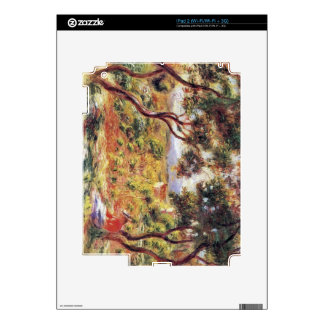 Vines at Cagnes by Pierre Renoir Decal For The iPad 2