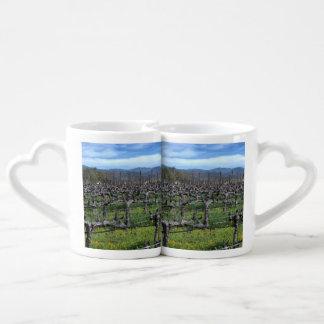 Vines In Winter Napa California. Coffee Mug Set