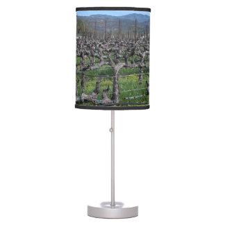 Vines In Winter Napa California Desk Lamp