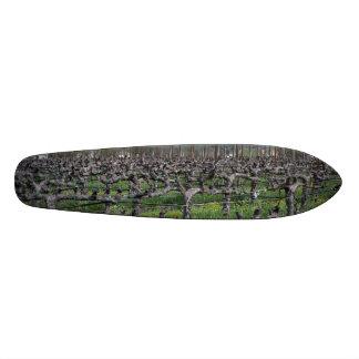 Vines In Winter Napa California Custom Skate Board