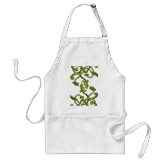 Vines Olive Green Nature Natural World Standard Apron