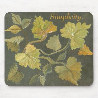 vines plus Simplicity Mousepad