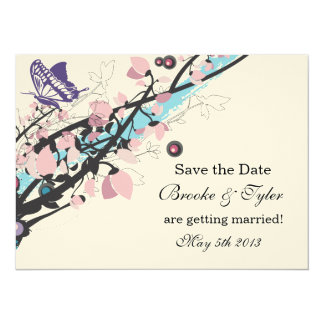 Vines, Wings & Things 5.5x7.5 Paper Invitation Card