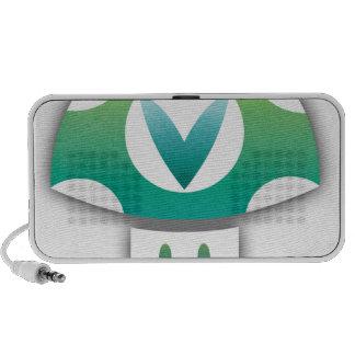 Vinesauce Mushroom Portable Speakers