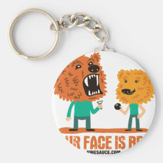 Vinesauce - Your Face is Bear Keychain