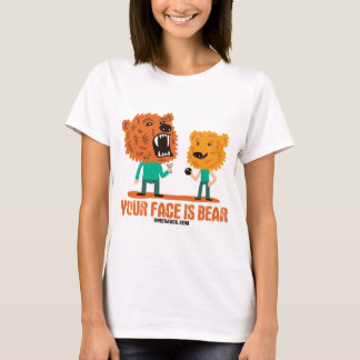 Vinesauce - Your Face is Bear T-Shirt
