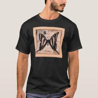 Vinetage Butterfly Tile T-Shirt