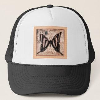 Vinetage Butterfly Tile Trucker Hat