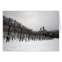 Vineyard and Reichenstein Castle, Arlesheim Card
