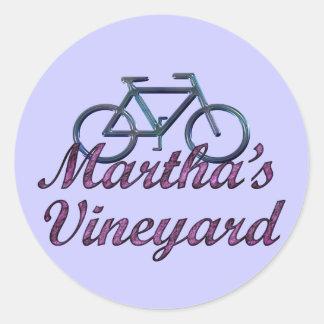 Vineyard Bicycle Sticker