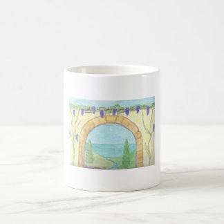 Vineyard cup coffee mug