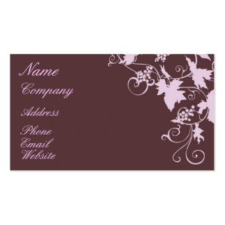 Vineyard Glory Business Card Template