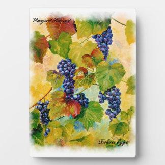 Vineyard Harvest Plaque