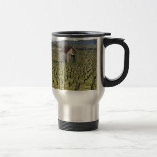 Vineyard in Burgundy France Travel Mug