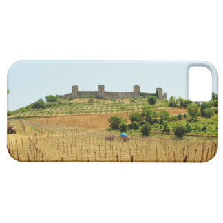Vineyard in front of a fort, Monteriggioni, iPhone SE/5/5s Case