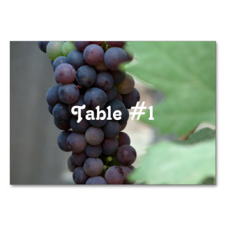 Vineyard in Italy Table Card