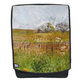 Vineyard in Napa Valley Backpack