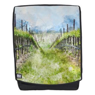 Vineyard in Napa Valley California Backpack