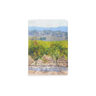 Vineyard in Napa Valley Passport Holder
