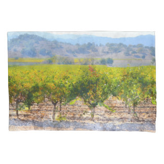 Vineyard in Napa Valley Pillow Case