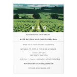 Vineyard Landscape Winery Wedding Invitation Invite