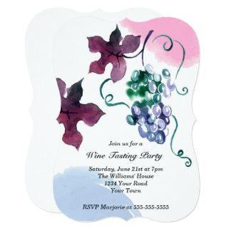 Vineyard Party Card