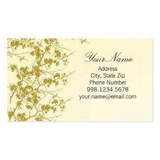 Vineyard Spring Blooms Business Card