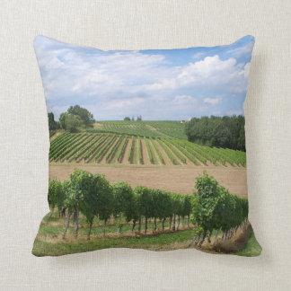 Vineyard - Vineyard (Bordeaux - France) 04 Throw Pillow