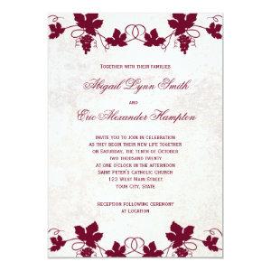 Vineyard Wedding Invitations 5